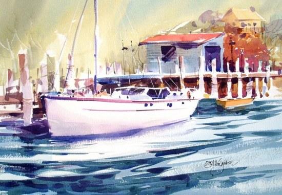 hingston wharf. pittwater