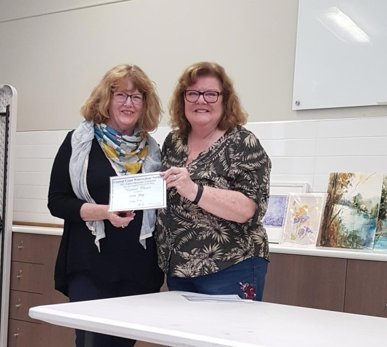 Louise Kenny, CCWS Second Place Award winner, Peoples Choice Award Easter Showcase 2021